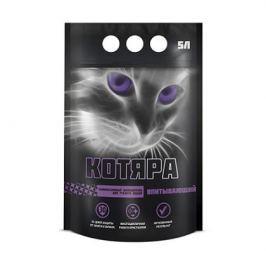 Силикагелевый наполнитель Котяра (полиэтиленовый пакет) для кошек 5л.