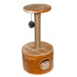 Домик RP8110с когтеточка круглый малый (сизаль) для кошки