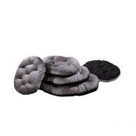 Лежанка Zoo-M Перина PLUSHka (100*70*10) плюшевая мех сатин для кошек и собак