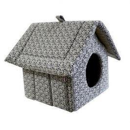 Лежанка (ЗЭ) дом-изба №2 на молнии  (44*40*44) мебельная ткань