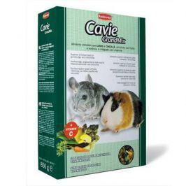 Корм Padovan Grand Mix Cavie для шиншилл и морских свинок основной, 850 г.