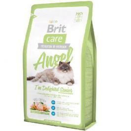 Сухой корм Brit Care Cat Angel Delighted Senior для пожилых кошек 7кг