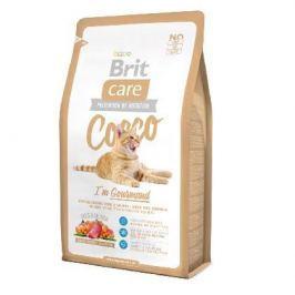 Сухой корм Brit Care Cat Cocco Gourmand беззерновой для кошек-гурманов 7кг