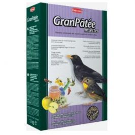 Корм Padovan Gran Patee Insectes для насекомоядных птиц с насекомыми (1 кг)