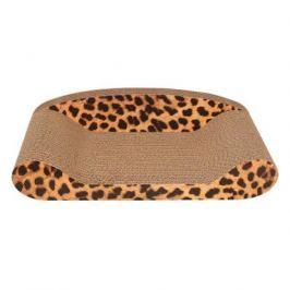 Когтеточка - лежак Triol CT06 из гофрокартона для кошек 51*23,5*13,5 см