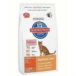 Сухой корм Hill's Science Plan Optimal Care для кошек от 1 до 6 лет с ягненком, 10кг. ТОЛЬКО ДЛЯ ПИТОМНИКОВ Hill's