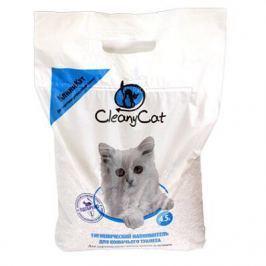 Минеральный впитывающий наполнитель CleanyCat 4.5л для котят и короткошерстных кошек (2.7кг)