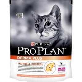 Сухой корм Pro Plan для взрослых кошек с чувствительной кожей, лосось, 1.5 кг