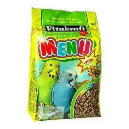 Корм Vitakraft Menu Vital для волнистых попугаев основной (1 кг)