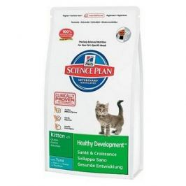 Сухой корм Hill's Science Plan Healthy Development для котят до 12 месяцев с тунцом, 2 кг