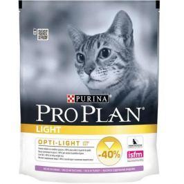 Сухой корм Pro Plan для кошек снижение веса, индейка+рис, 1.5 кг