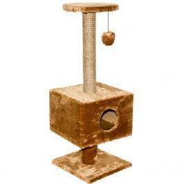 Домик RP8108 квадратный на подставке (37*35*95) для кошки