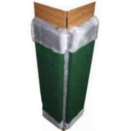 Когтеточка (Т-р) ковролин с пропиткой угловая с мехом