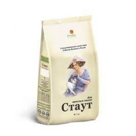 Сухой корм Стаут для взрослых кошек гипоаллергенный ягненок+рис, 15 кг.