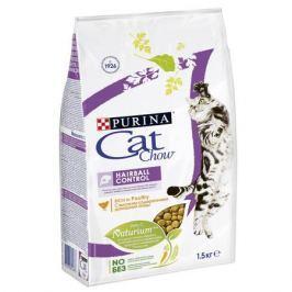 Сухой корм Cat Chow special care для кошек профилактика образования комков шерсти, 1.5кг