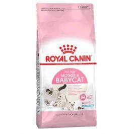 Сухой корм Royal Canin Mother&Babycat  для котят (1-4 мес.) и кошек в период беременности и лактации, 2 кг