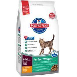 Сухой корм Hill's Science Plan Perfect Weight для кошек старше 1 года, склонных к набору веса с курицей, 1.5кг
