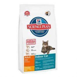 Сухой корм Hill's Science Plan Indoor Cat  для взрослых кошек, живущих в домашних условиях, курица, 300 г.