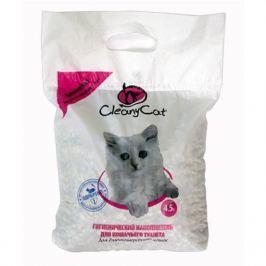 Минеральный впитывающий наполнитель CleanyCat 4.5л для длинношерстных кошек (2.7кг)
