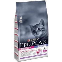 Сухой корм Pro Plan для котят с чувствительным пищеварением, индейка+рис, 10кг