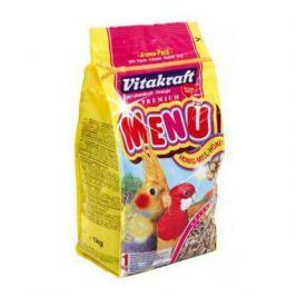 Корм Vitakraft Menu для средних попугаев универсальный (1 кг)