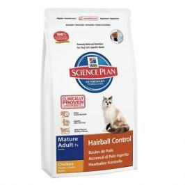Сухой корм Hill's Science Plan Hairball Control для кошек от старше 7 лет для выведения шерсти курица, 1.5кг