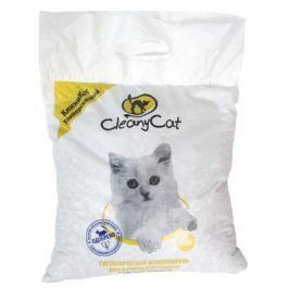 Минеральный впитывающий наполнитель CleanyCat 4.5л универсальный для кошек (2.7кг)
