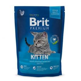 Сухой корм Brit Premium Сat Kitten курица для котят, 8кг