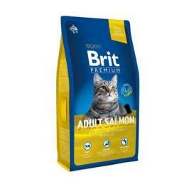 Сухой корм Brit Premium Сat Adult Salmon лосось для кошек, 800г