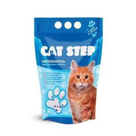 Силикагелевый наполнитель Cat Step для кошек, 3л (1.4кг)