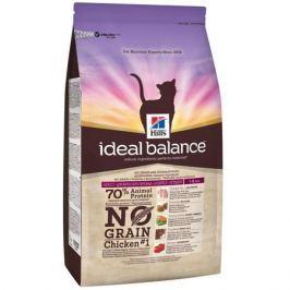 Сухой корм Hill's Ideal Balance No Grain натуральный беззерновой для кошек от 1 года до 6 лет с курицей и картофелем, 300г