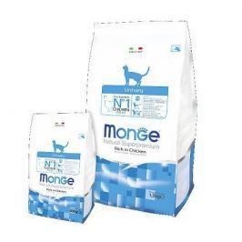 Сухой корм Monge Cat Urinary для кошек профилактика МКБ 1.5кг