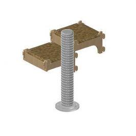 Собирайка ZooM №8 Полки настенные с когтеточкой (VI-VII уровень) 59*40*58см