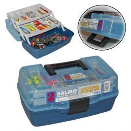 Ящик (Salmo) рыболовный пластиковый 2х-полочный 02 маленький