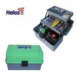 Ящик (Helios) двухполочный зеленый