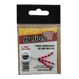 Стопор Helios силиконовый 1061 (HS-SHK-1061-SSS) (15 шт)