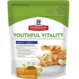 Сухой корм Hill's Science Plan Youthful Vitality для кошек старше 7 лет для борьбы с возрастными изменениями, с курицей и рисом, 1.5кг