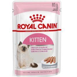 Влажный корм RC Kitten для котят от 4 до 12 месяцев и для беременных кошек, паштет, 85 г.