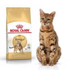 Сухой корм Royal Canin Bengal Adult для бенгальских кошек старше 12 месяцев, 400г.