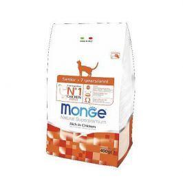 Сухой корм Monge Cat Senior для пожилых кошек старше 7 лет 400г