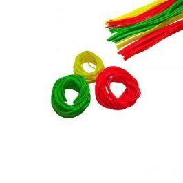 Кембрик Три Кита d.0,8*1,5 флюоресцентный  зелёный 1м. уп.10шт