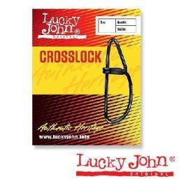 Застежки Lucky John CROSSLOCK 0003/0 10шт.