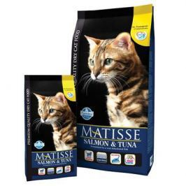 Корм сухой Farmina Matisse лосось с тунцом для кошек, 1.5кг.