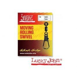 Вертлюги Lucky John c застежкой LH скольз. MOVING ROLLING AND INTERLOCK 00М 7шт.