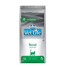 Сухой корм Farmina Vet Life Cat для кошек при почечной недостаточности, 400г.