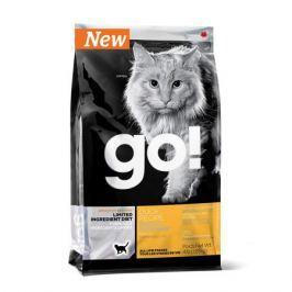 Сухой корм GO SENSITIVITY + SHINE утка беззерновой для котят и кошек, 3.63кг