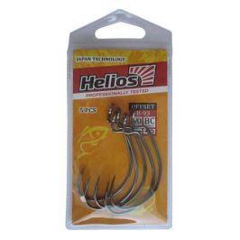 Крючок Helios офсетный B-93 №5/0 цвет BC (5шт) (HS-B-93-5/0)