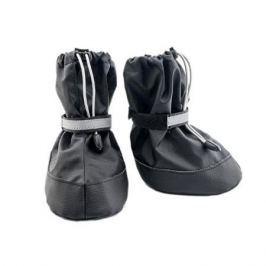 Обувь ЧИП пара для собак N 3 S черная (экокожа+полиэстер), 7*5*h10.5см