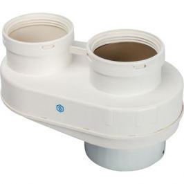 Stout Элемент дымохода Dn80/80 адаптер для подкл. разд. труб (совместимый Vaillant,ptotherm New ) Pp-Ryton