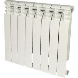 Rommer Profi 500 (Al500-80-80-100) 8 секции радиатор алюминиевый (Ral9016)